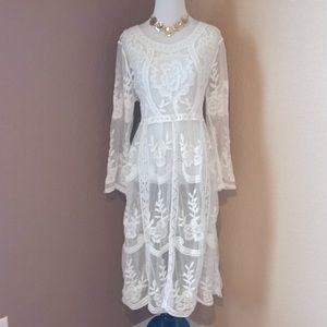 Dresses & Skirts - Boho Chic Maternity Shoot Gown